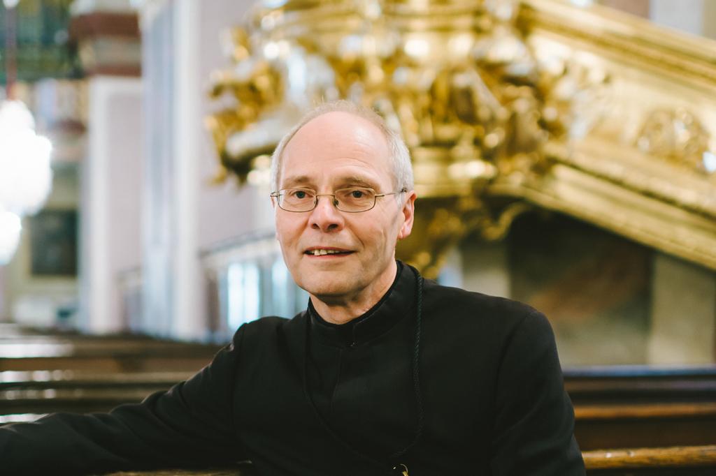 Pater Andreas Petith, Waldviertel-Station Maria Taferl © Stefan Fürtbauer