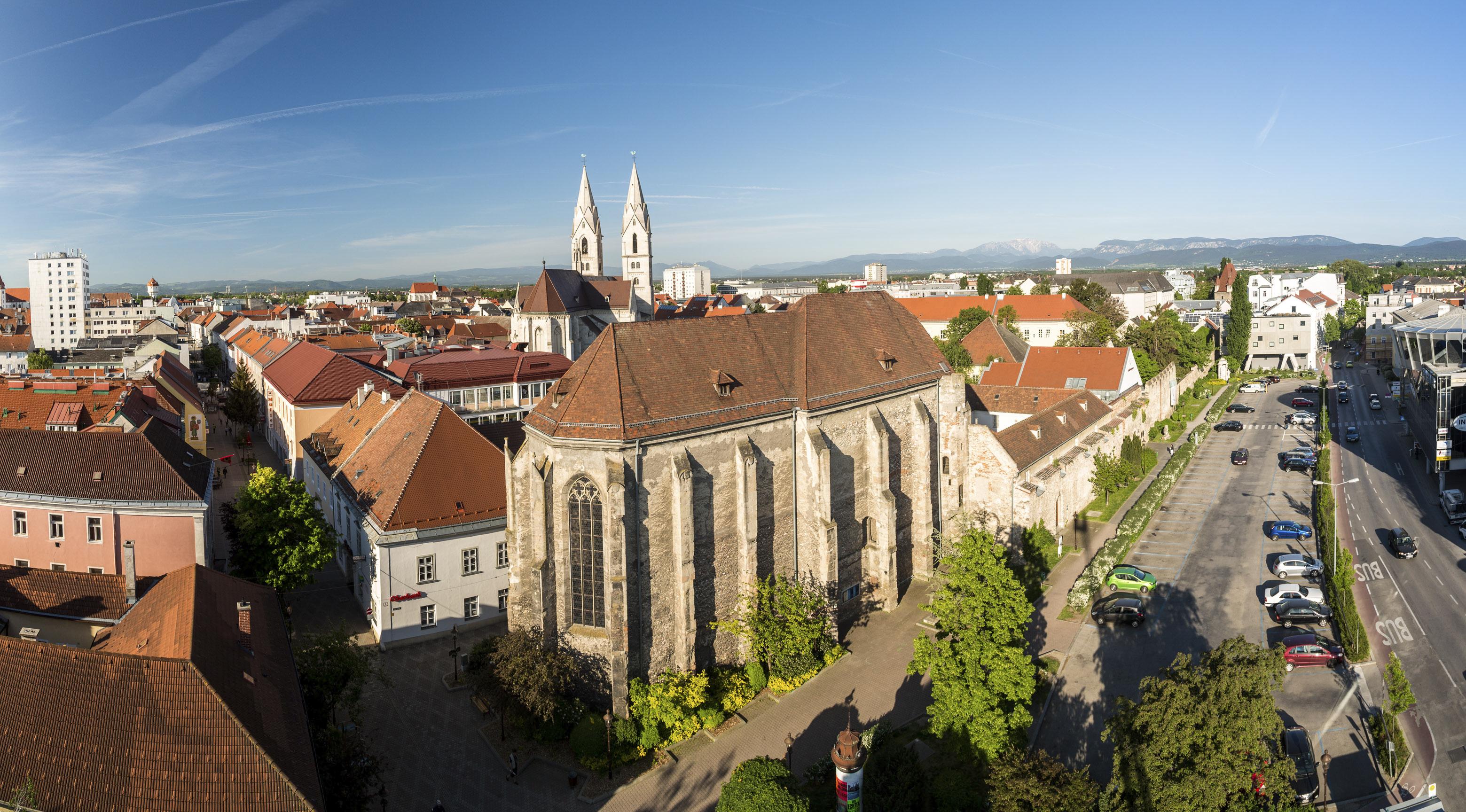 St. Peter an der Sperr in Wiener Neustadt © Wiener Alpen in Niederösterreich Tourismus GmbH
