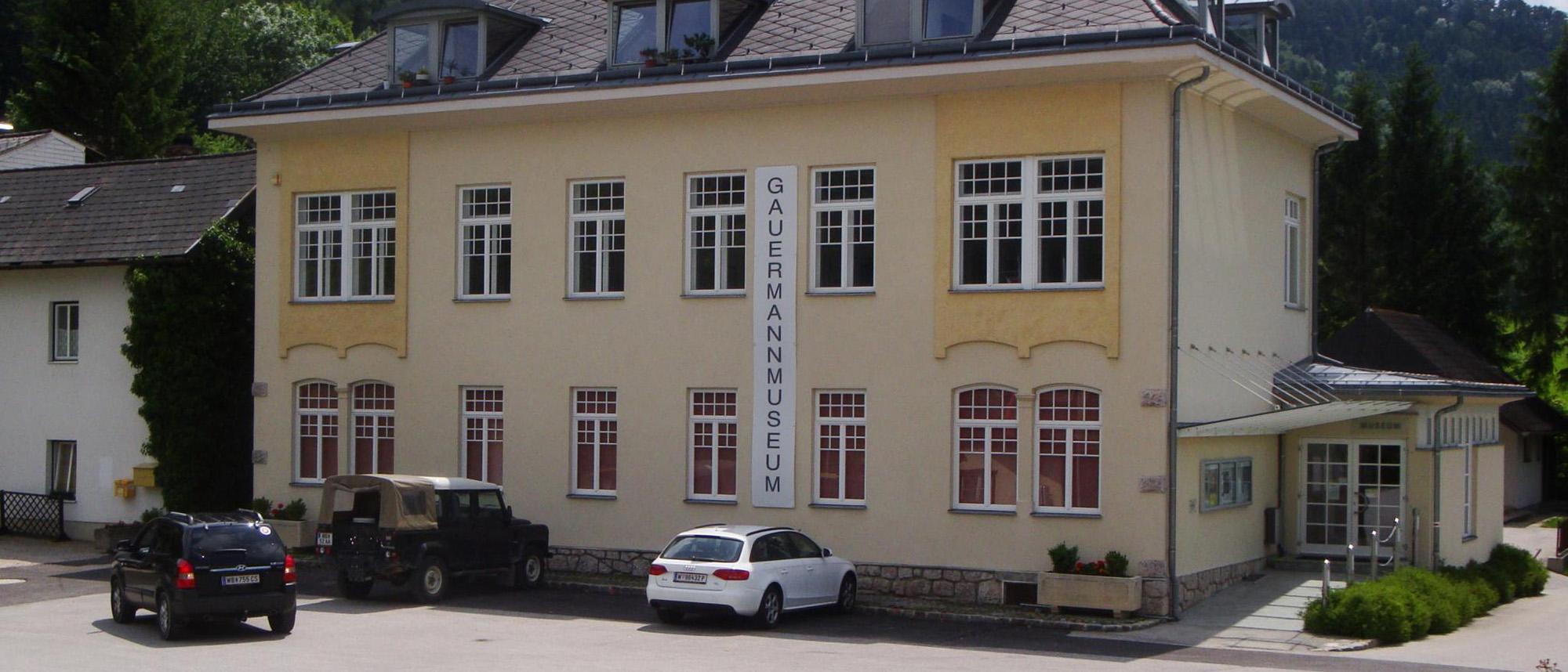 Gauermannmuseum © Helmut Mucker