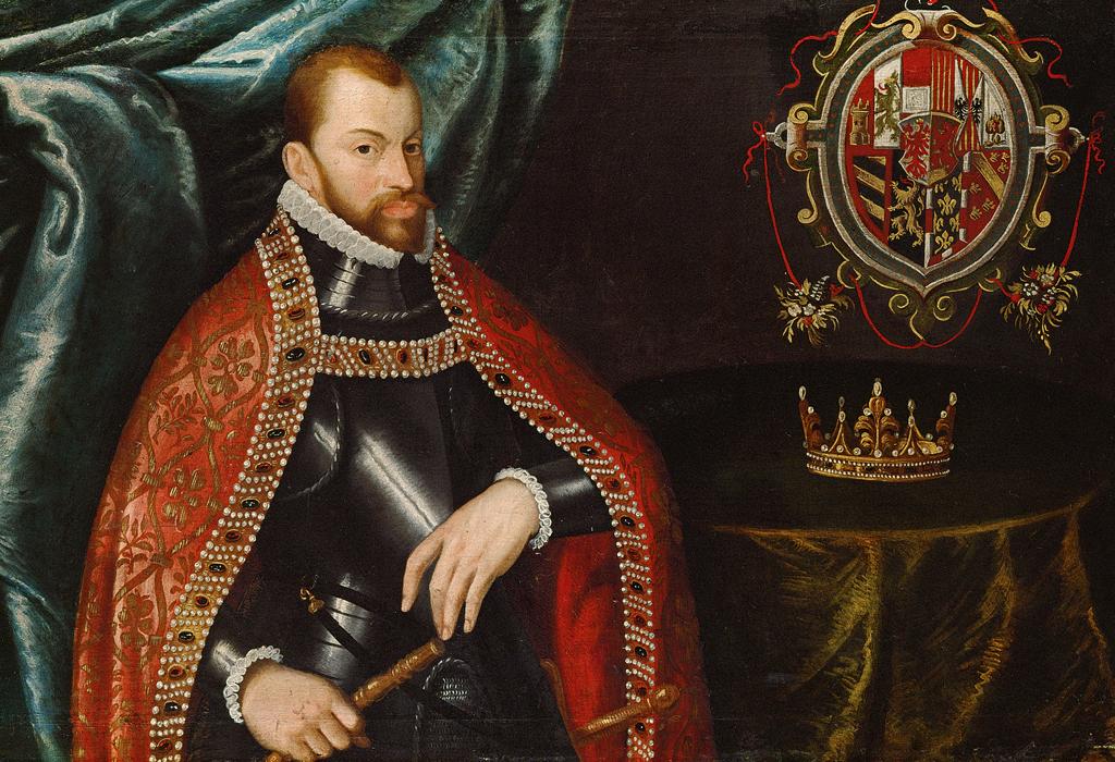 Dieses Bild zeigt Philipp II. (1527-1598), den König von Spanien.