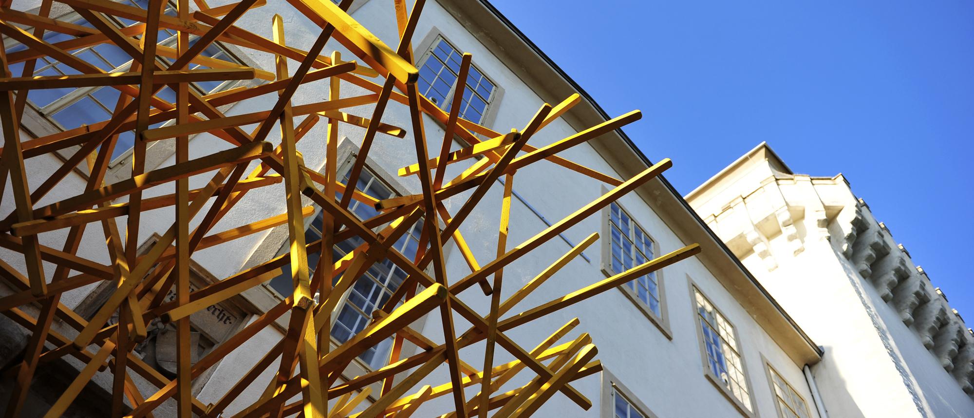 Ausstellungsstandort Asparn/ Zaya © Klaus Pichler